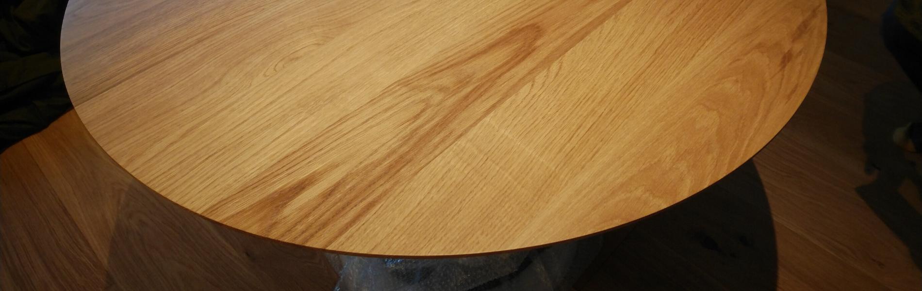 テーブル 丸 無垢